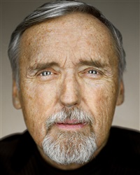 dennis hopper, close up by martin schoeller