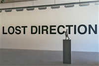 installationsansicht: lost direction, beirut by urs lüthi