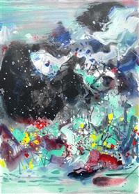 stormy ink - 4 - spring by chu teh-chun