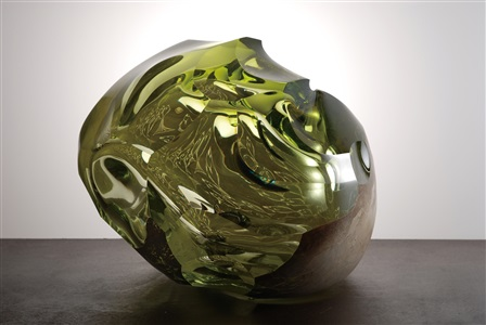fragile domains a group show by six artists working in glass by hiroshi yamano