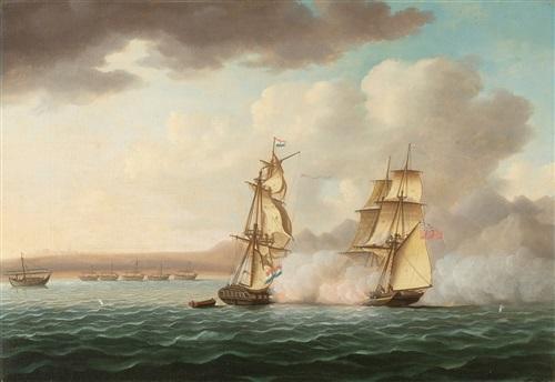 battle scene by thomas buttersworth
