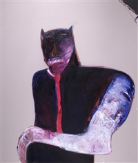cat mask by fritz scholder