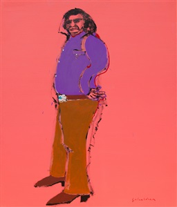 fritz scholder preview exhibition of the romona scholder collection by fritz scholder