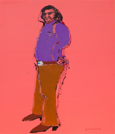 one quarter luiseno #2 by fritz scholder