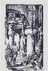 opar illustration by roy krenkel