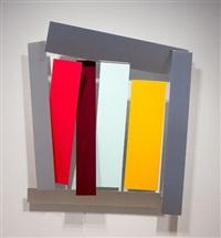 sacra conversazione painting - versione follia, 2013 by christian eckart