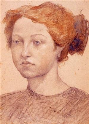 retrato de jovencita by pablo gargallo