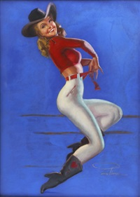cowgirl by earl macpherson