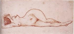 desnudo tumbado by pablo gargallo