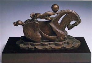 petit cheval de cirque by pablo gargallo