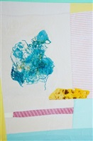 topos (dots and turquoise) by bastienne schmidt