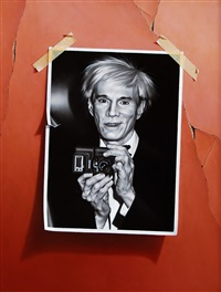 andy warhol by otto duecker