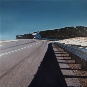 guardrail/median by woody gwyn