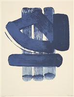 lithographie no. 37 by pierre soulages