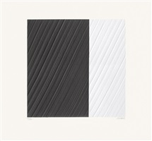 papier formé no. 1 by pierre soulages