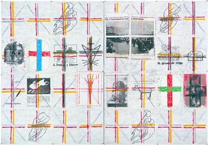 exhibition: pinturas aeropostales by eugenio dittborn