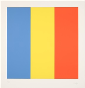 blue yellow red blau gelb rot by ellsworth kelly