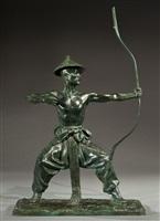 mongolian archer by malvina hoffman