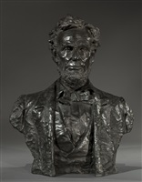 bust of lincoln by max bachmann