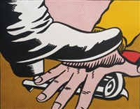 foot and hand by roy lichtenstein