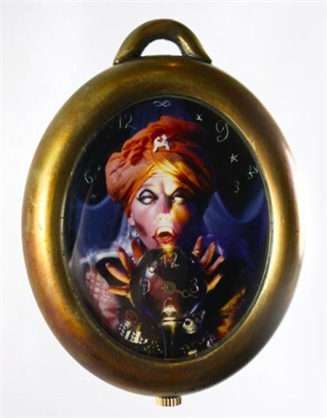 """""""the fortune teller"""" limited edition artist created watch by cindy sherman"""