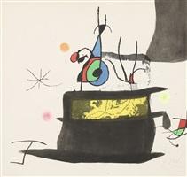le carrosse d'oiseaux (die vogelkutsche) by joan miró