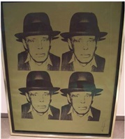 portrait beuys by andy warhol