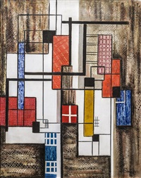 geometric abstraction by irene rice pereira