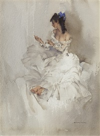 the locket – cecilia, nov 5th 1964 by william russell flint