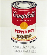 pepper pot (ferus gallery poster) by andy warhol