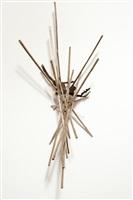 gymnopedies golden stitch #02 (small bowl w/roots) by yoshitomo saito