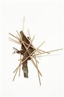 gymnopedies golden stitch #15 (mixed w/bark) by yoshitomo saito