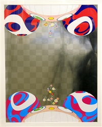 my arms and legs rot off and though my blood rushes forth by takashi murakami