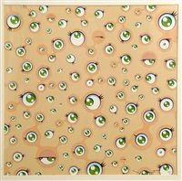 jellyfish eyes white by takashi murakami