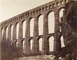 aqueduct at roquefavour by edouard-denis baldus