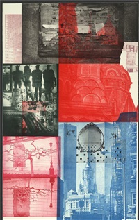 soviet / american array v by robert rauschenberg