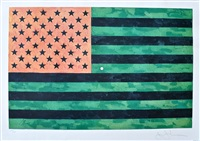flag (moratorium) (ulae s5) by jasper johns
