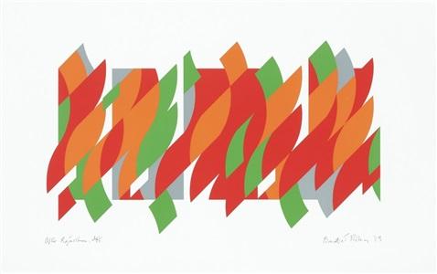 london original print fair 2014 by bridget riley