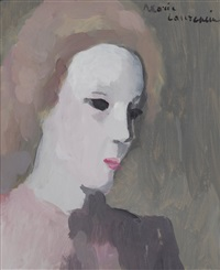 portrait d'anne turquet de beauregard by marie laurencin