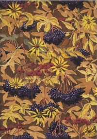 wallpaper design no. 1 by charles ephraim burchfield