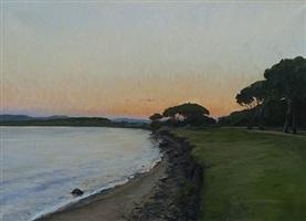 dawn at baratti by marc dalessio