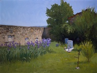 cemetery at la pieve by marc dalessio