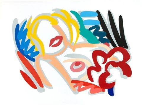 blonde by tom wesselmann
