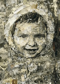 vik, 2 years old, album by vik muniz