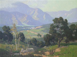 ojai valley by elmer wachtel