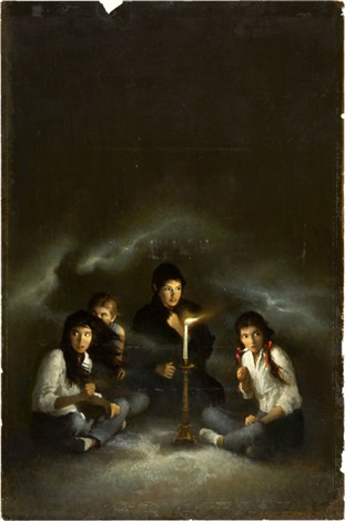 the séance paperback cover by george ziel