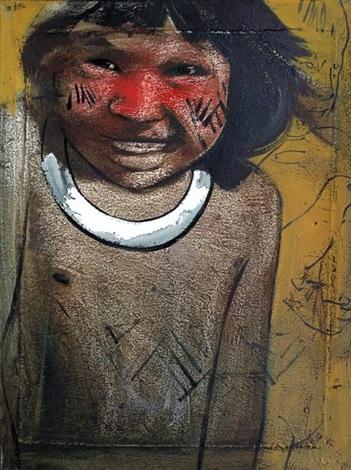 curumim (painted roast) by elon brasil
