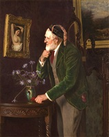 behind the screen by charles spencelayh