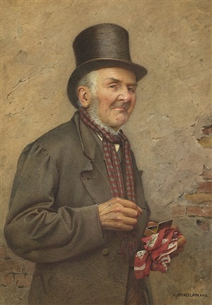 a pinch of snuff by charles spencelayh