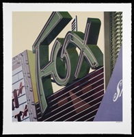 fox <br />american signs set by robert cottingham